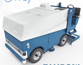3D vehicle Zamboni ice filling and cleaning machine