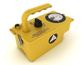 3D model Radiation Survey Meter 2