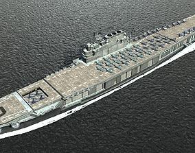 3D model he Second World War USA Navy Enterprise CV-6