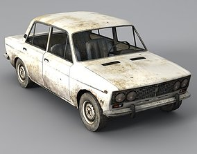 Low Poly VAZ 2103 Car 3D model