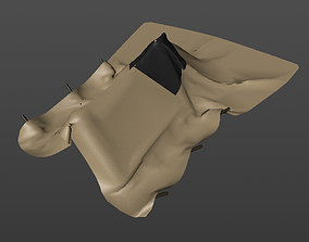 Makeshift Tent 3D asset