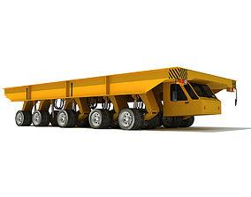 Shipyard Transporter Vehicle 3D