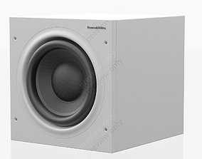3D model Bowers and Wilkins ASW 608 White