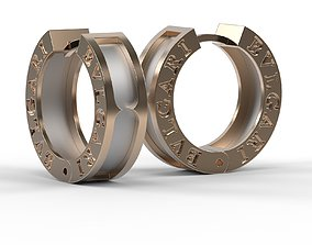 3D print model Another BVLGARI style earrings