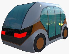 3D model Future car II concept