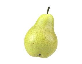 photoscan Photorealistic Pear 3D Scan 4