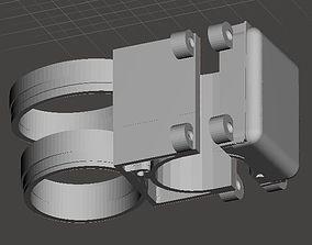 metal detector pinpointer holder 3D printable model