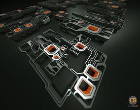 3D asset Tech shapes-TS2 kit
