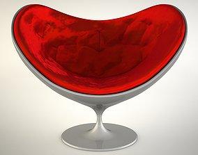 Love Chair 3D model scoop