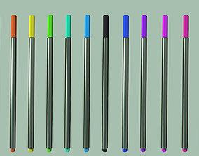 3D asset Color pencil