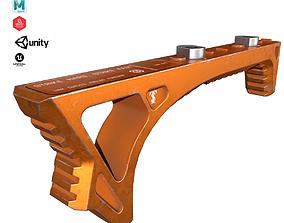 Angled Foregrip Set-01 3D model