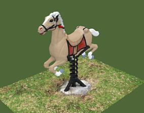 farm Horse Game 3D model