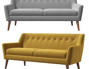 Vita KAZA do sofa button 3D model