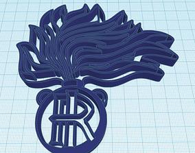 SIMBOLO ARMA DEI CARABINIERI 3D print model