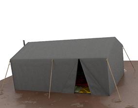 3D model Tent City Part 002