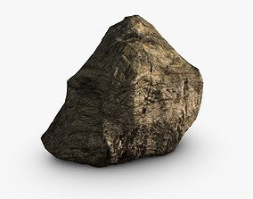3D Cliff rock or mountain
