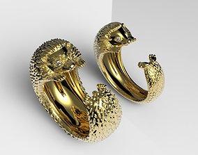 3D printable model Ring Hedgehog