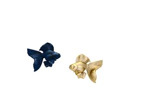 jewellery fish yellow 3D print model