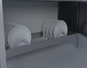 3D model Dish Rack