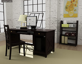 3D model Home Workplace Furniture 07