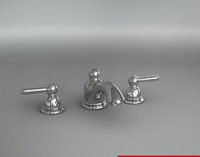 3D model home metal Tap Mixer