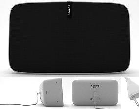3D model Sonos Play 5