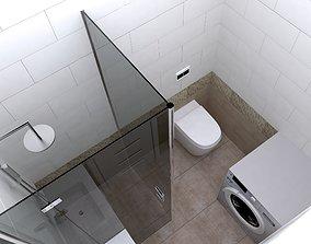 bath 3D model batch design