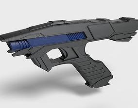 Vengeance Phaser from the movie Star Trek 3D print model 2