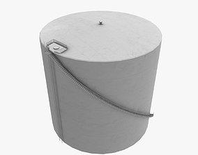 3D asset KATL Fuel Tank