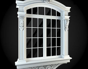 Window exterior 3D model