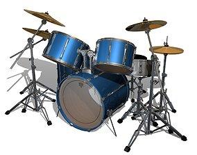 3D Drum Kit cymbals