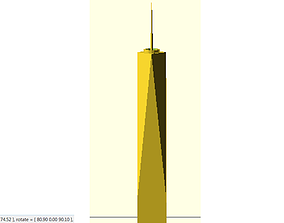Freedom Tower 3D printable model