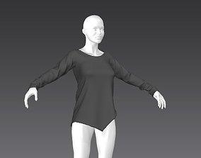 Clothes for Marvelous Designer Shirt01 3D model