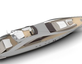 3D model SUPER YACHT CONCEPT DESIGN