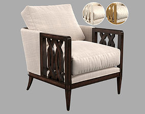 John Richard Lucio Club Chair 3D
