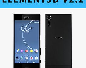 E3D - Sony Xperia XZs Black 3D model