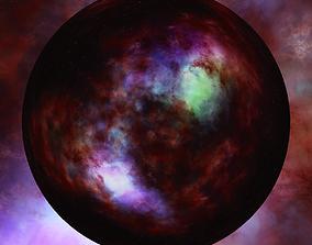 3D model Nebula Space Environment HDRI Map 013