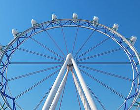 3D model outdoor Ferris Wheel