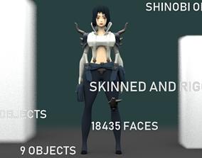 SHINOBI ONNA 3D model