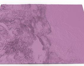 ColoradoRelief Map 3D printable model