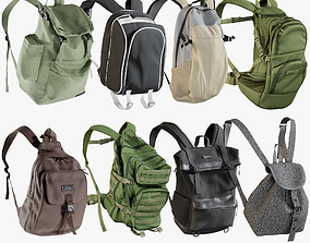 3D model Backpack Collection 11