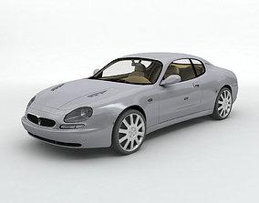 3D model 2000 Maserati 3200GT Sports Car
