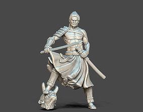 Samurai - Ronin - Shingami 35 mm scale - 3D print