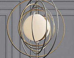 Electrum Kinetic Chandelier 3D