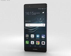 3D model Huawei P9 Titanium Grey
