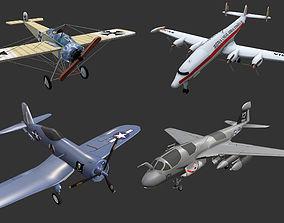 Aircrafts Collection4 3D asset