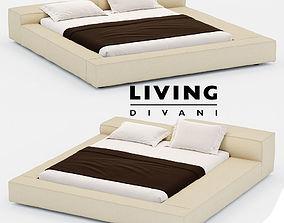 Bed EXTRASOFT 3D model