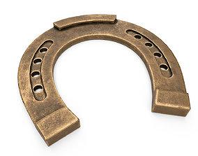Horseshoe Bronze 3D model