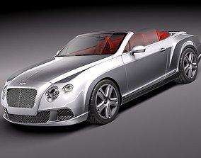 Bentley Continental GTC 2012 3D
