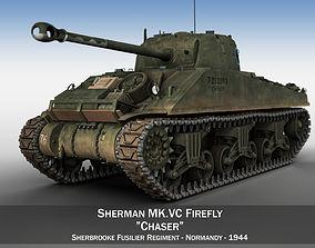 Sherman MK VC Firefly - Chaser 3D